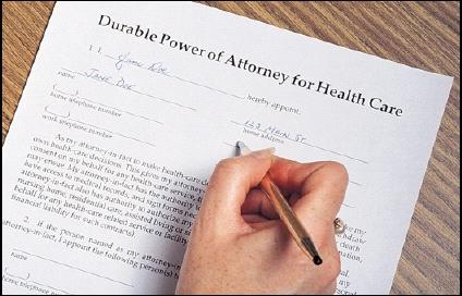 Blog – Advance Medical Directive Form